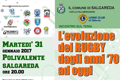Rugby e solidarieta