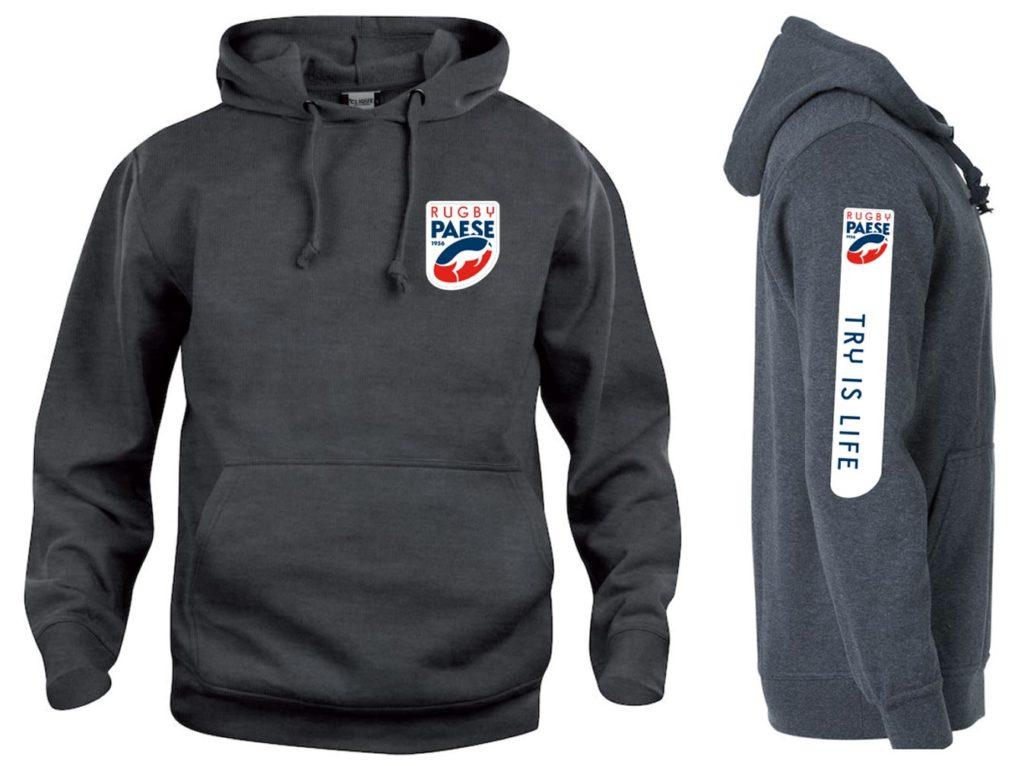 Felpa senza zip - Rugby Paese