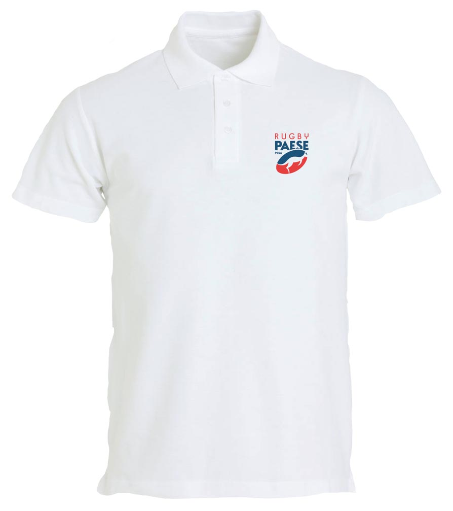 Polo bianco - Rugby Paese